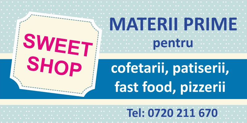 banner materii patiserie